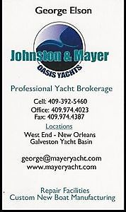 Johnston & Mayer Oasis Yachts Galveston, Texas - Nauticfan the maritime portal