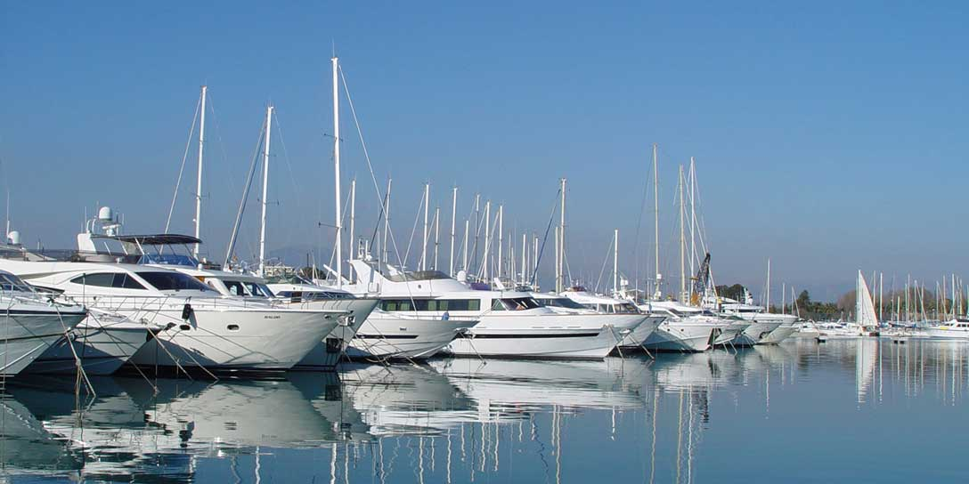 Ports and marinas Services and facilities on your journey
